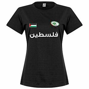 Palestine Womens Tee - Black