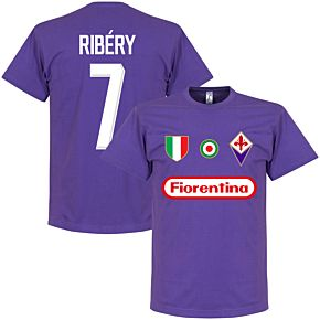 Fiorentina Ribery 7 Team Tee - Purple