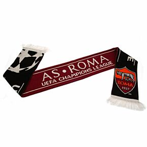 AS Roma UCL Scarf