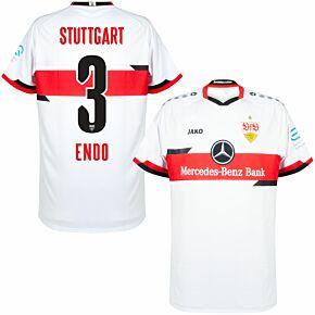 21-22 VfB Stuttgart Home Shirt + Endo 3 (Official Printing)