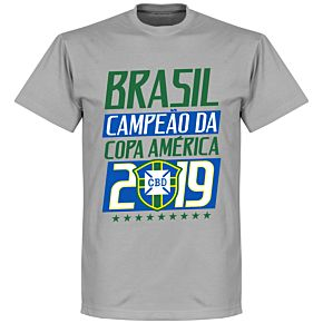 Brazil Campeao 2019 Tee - Grey