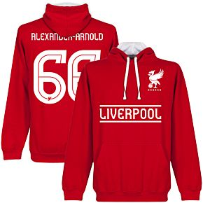 Liverpool Alexander-ArnoldTeam Hoodie - Red/White
