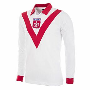 54-55 Lille OSC Home Retro Shirt