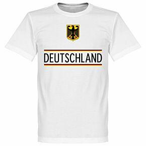 Germany 2020 Team T-Shirt - White