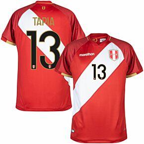 20-22 Peru Away WC Qualifiers Shirt + Tapia 13 (Fan Style Printing)