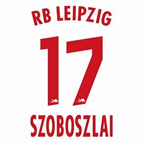 Szoboszlai 17 (Official Printing) - 20-21 RB Leipzig Home