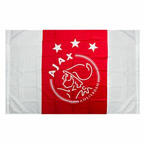 Ajax Crest Logo Flag - (100 x 150cm)