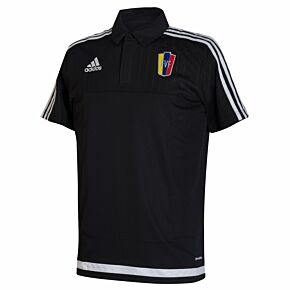 15-16 Venezuela Polo Shirt - Black