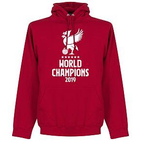 Liverpool World Champions Qatar 2019 Hoodie - Red
