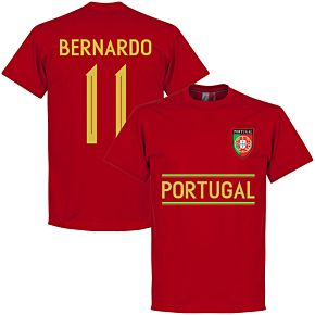 Portugal Bernardo 11 Team Tee - Red