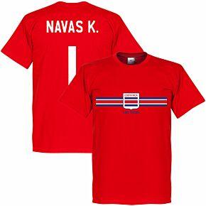 Cost Rica Keylor Navas Team Tee - Red