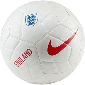 Nike England Strike Football - Size 5 (White)