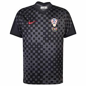 20-21 Croatia Away Shirt + 2020 Transfer