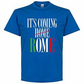 It's Coming Rome T-shirt - Royal