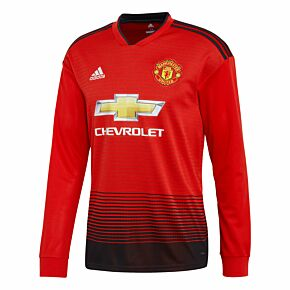 Manchester United Home L/S Jersey 2018 / 2019