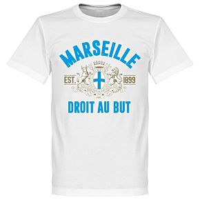 Marseille Established Tee - White