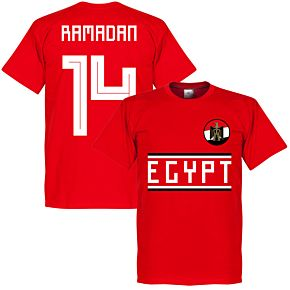 Egypt Ramadan 14 Team Tee - Red