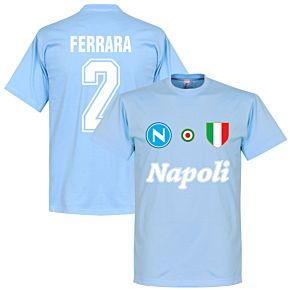 Napoli Ferrara 2 Team Tee - Sky