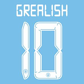 Grealish 10 (Cup Printing) - 21-22 Man City Home