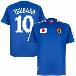 Tsubasa Japan V2 Shirt + Tsubasa 10