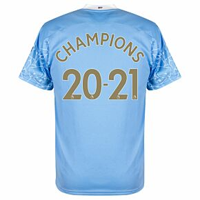 Champions 2020/2021 Official Printing & Sleeve Patches