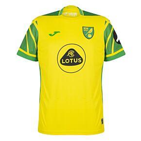 21-22 Norwich City Home Shirt