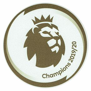 20-21 Premier League Champions Patch (19-20 Winners) - Liverpool - Replica Size 65mm