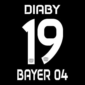 Diaby 19 (Official Printing) - 19-20 Bayer Leverkusen Home
