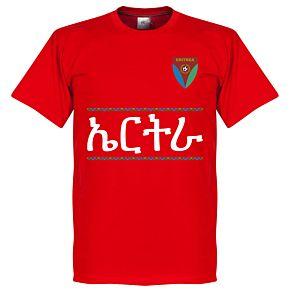 Eritrea Team Tee - Red