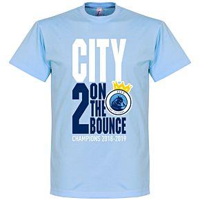 City 2 on the Bounce Champions Tee - Sky