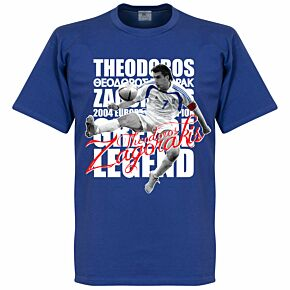 Theodoros Zagorakis Legend Tee - Royal