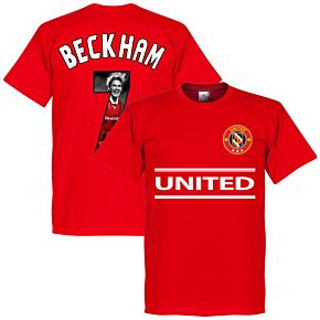 United Beckham 7 Gallery Team Tee - Red