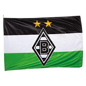 Borussia Monchengladbach Fans Crest Flag (150 x 100cm)