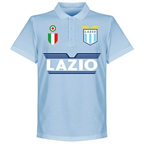 Lazio Team Polo - Sky Blue