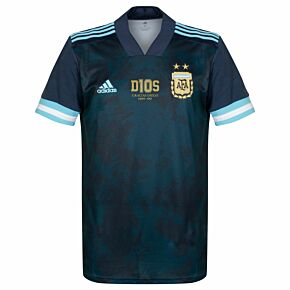 20-21 Argentina Away Shirt + Free D10S Transfer