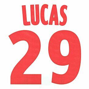 Lucas 29 12-13 PSG Home/Away