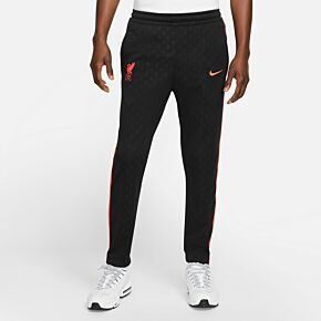 21-22 Liverpool Knit Track Pants - Black