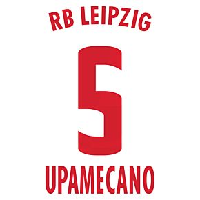 Upamecano 5 (Official Printing)