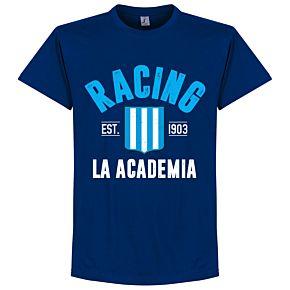 Racing Club Established Tee - Ultramarine