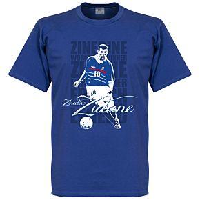 Zinedine Zidane Legend KIDS Tee - Royal