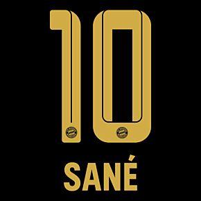 Sané 10 (Official Printing) - 21-22 Bayern Munich Away