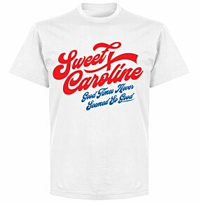 Sweet Caroline T-shirt - White
