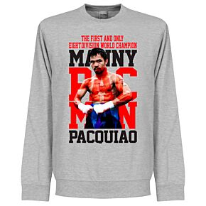 Manny Pacquiao Legend Sweatshirt - Grey