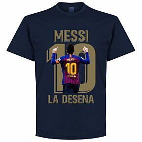 Messi La Desena Tee - Navy