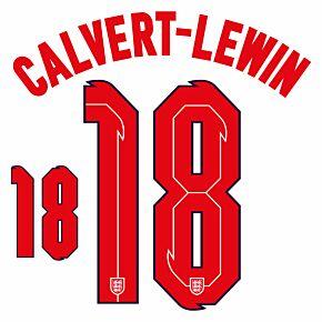 Calvert-Lewin 18 (Official Printing) - 20-21 England Home