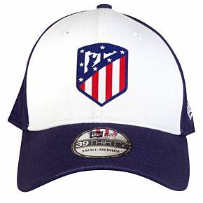 New Era Atletico Madrid 39Thirty Colour Block Cap - Navy/White