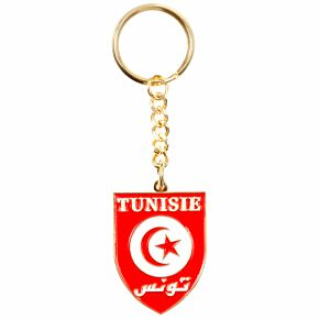 Tunisia Enamel Keyring