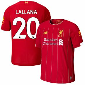 New Balance Liverpool Home Llalana 20 Jersey 2019-2020