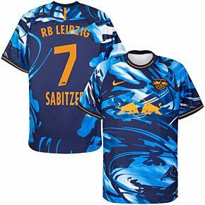 20-21 RB Leipzig 3rd Shirt + Sabitzer 7 (Official Printing)
