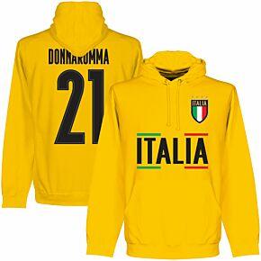 Italy Team Donnarumma Hoodie - Yellow